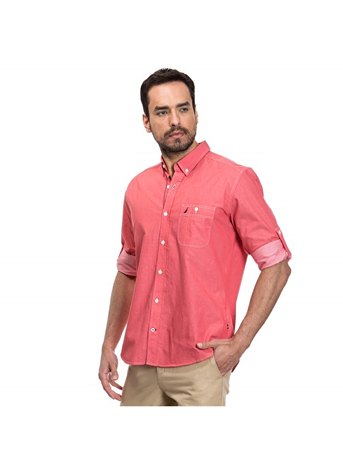 Nautica Gömlek Kırmızı
